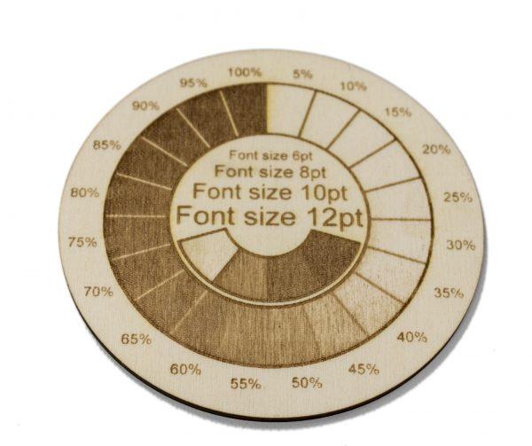 Sample engraving pattern Poplar